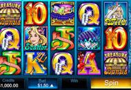 Mermaids Millions Slots Game Screenshot