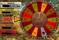 Mega Moolah Slots Game Screengrab