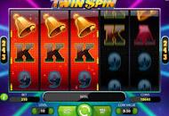 Twin Spin Slots Game Screengrab