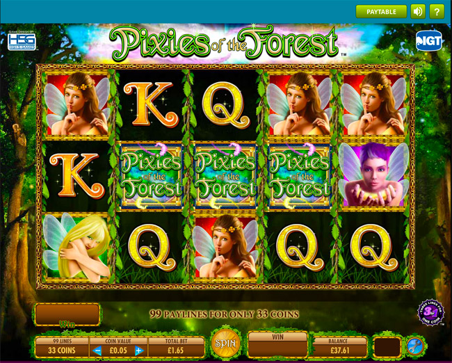 Pixies of the Forest Slot Review and Bonuses