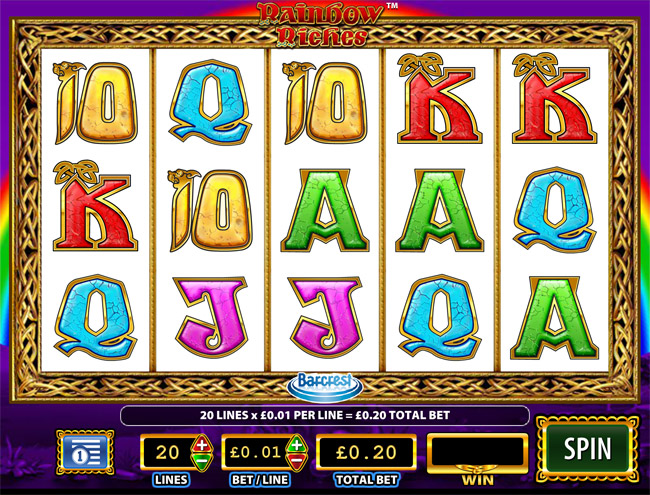 rainbow riches free play slots