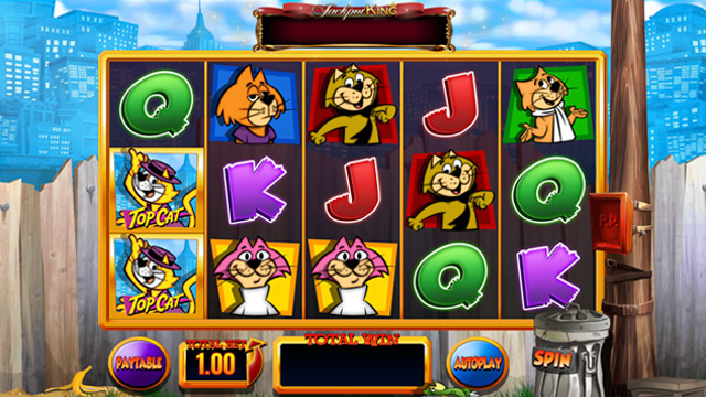 Top Cat Slots Review and Bonuses