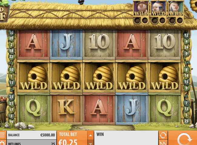 Big Bad Wolf Slot from Quickspin: Review, Bonuses and Recommended Casinos