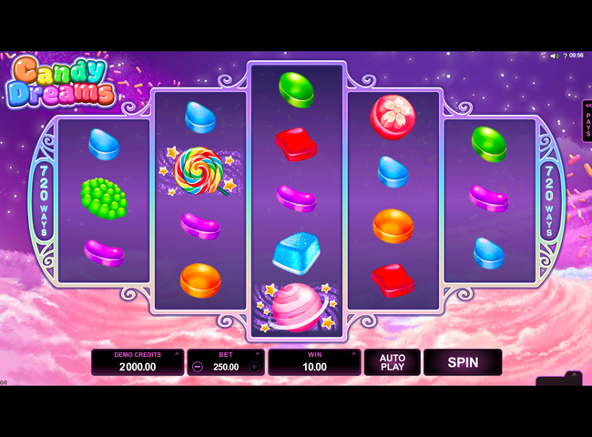 Candy Dreams Slots by Microgaming: Review, Bonuses and Recommended Casinos