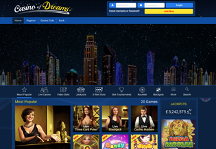 Casino of Dreams - Microgaming Casino