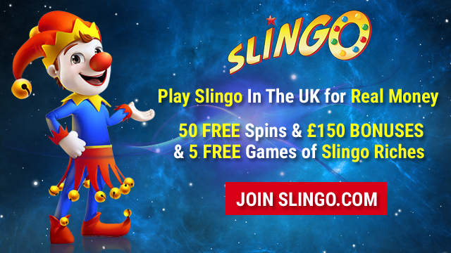Slingo in the UK - Play Now at Slingo.com