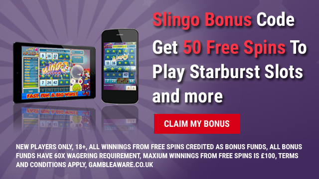 Slingo Bonus Code 2017