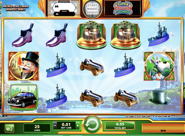 Super Monopoly Money Slot by WMS: Review, Bonuses and Recommended Casinos