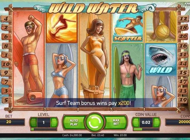 Wild Water™ Slots