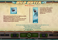 Wild Water Slots Game Review