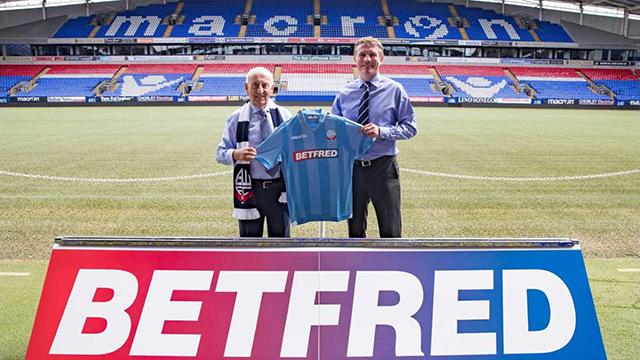 Betfred Bolton Wanderers
