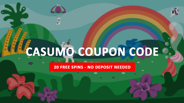 Casumo Coupon Code - 20 Free Spins No Deposit Needed