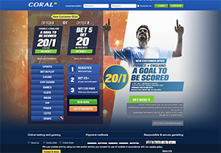 Coral Sports Free Bet