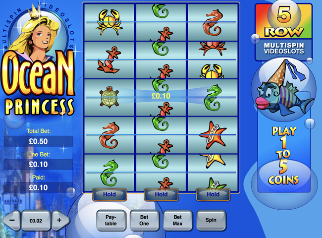 Ocean Princess Slot from Playtech: Review, Bonuses and Recommended Casinos