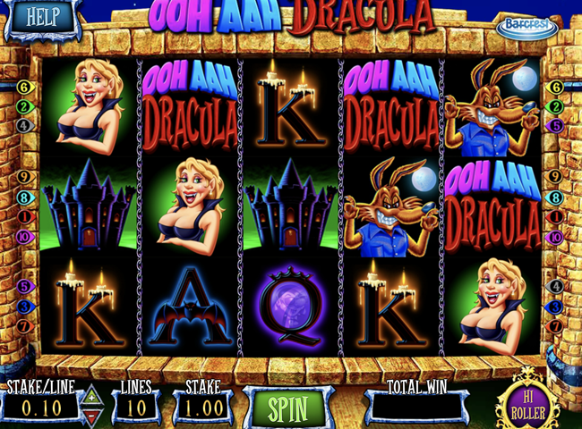 Ooh Aah Dracula Slot From Barcrest: Review, Bonuses and Recommended Casinos