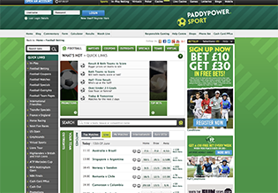 Paddy Power Full Site
