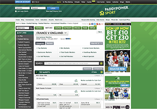 Paddy Power Sports Review and Sign Up Bonus