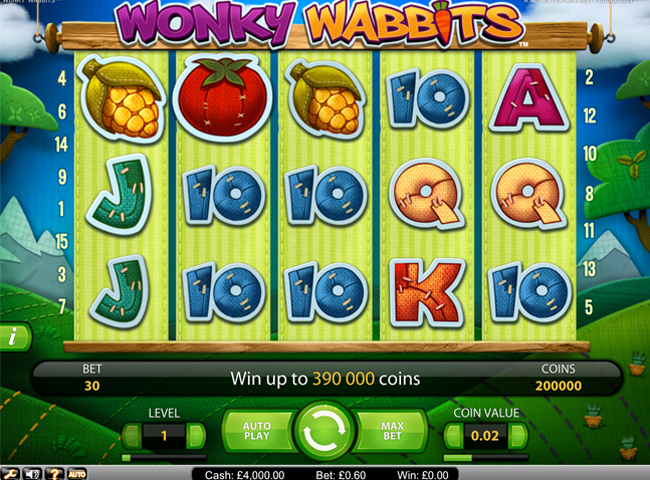 Wonky Wabbits Slot By Netent: Review, Bonus and Recommended Casinos