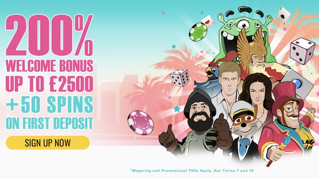 200% Casino Bonus - Best Casino Deposit Offers July 2017