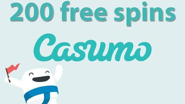 200 Free Spins at Casumo
