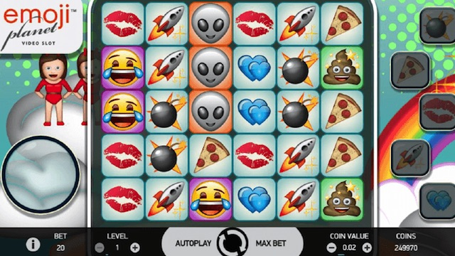 EmojiPlanet™ Slot by NetEnt - Preview