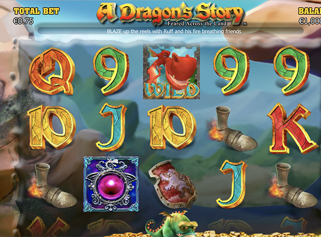 A Dragon's Story Slot by NextGen Review, Bonus and Recommended Casinos