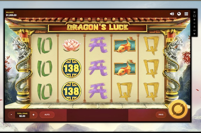 Dragon's Luck Slot by Red Tiger Gaming Review and Bonus