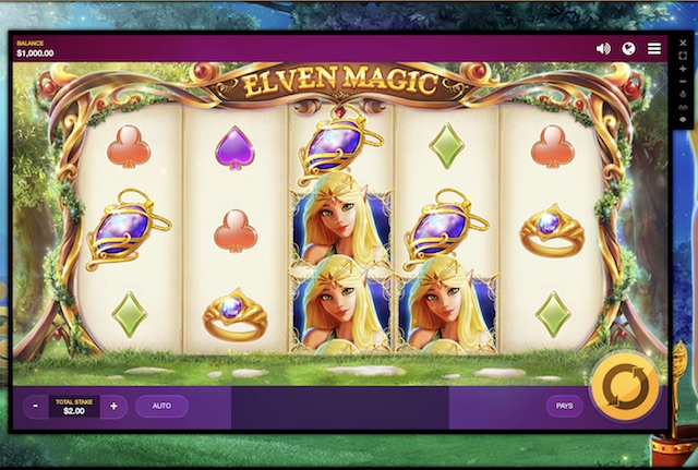 Elven Magic Slot by Red Tiger Gaming Review, Bonus and Recommended Casinos