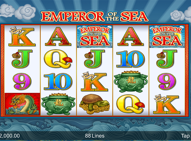 Emperor of the Sea Slot by Microgaming: Review and Recommended Casinos