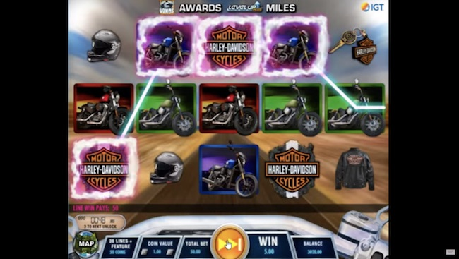 Harley Davidson Freedom Tour Slot by IGT
