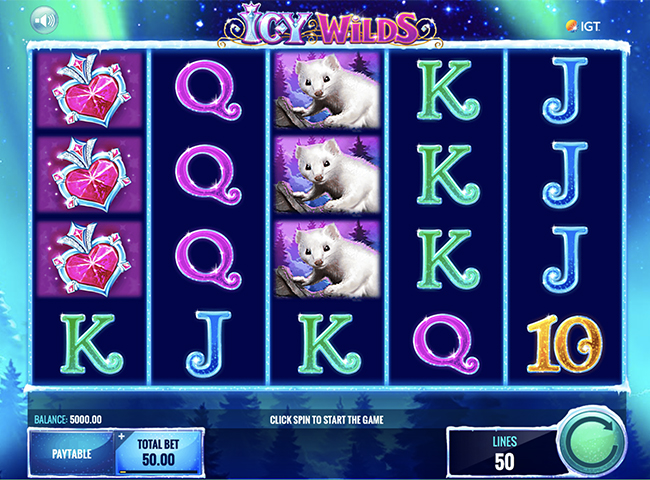 Icy Wilds Slot by IGT Review, Bonus and Recommended Casinos