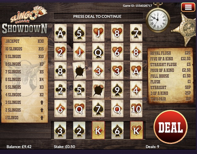 Slingo Showdown by Slingo Originals Review, Bonus and Recommended Casinos