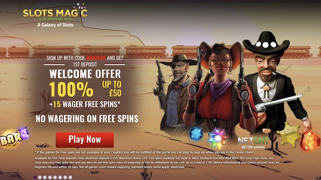 Slots Magic - New Slot Site For August 2017