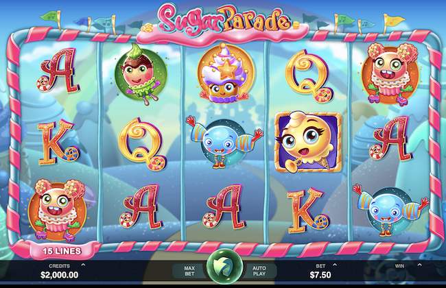 Sugar Parade by Microgaming
