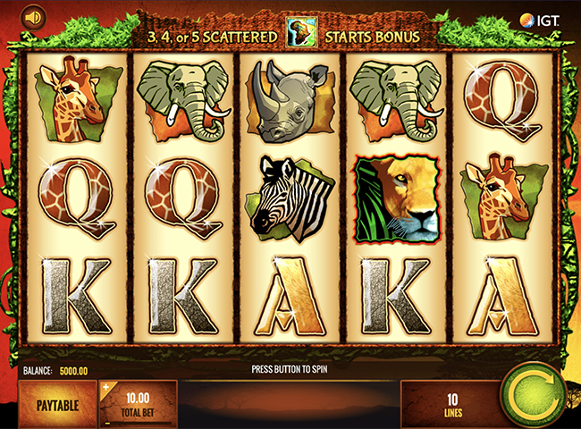 The Wild Life Slot by IGT Review, Bonus and Recommended Casinos | Offersville.com
