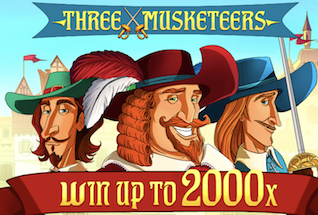 Three Musketeers Slot by Red Tiger Gaming Review, Bonus and Recommended Casinos