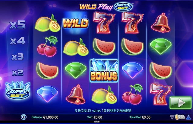 new slot Wild Play Super Bet by NextGen Gaming