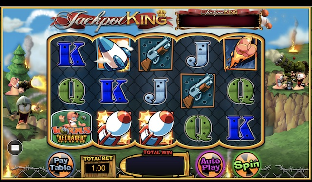 Worms Reloaded Slot by Blueprint Gaming Review, Bonus and Recommended Casinos