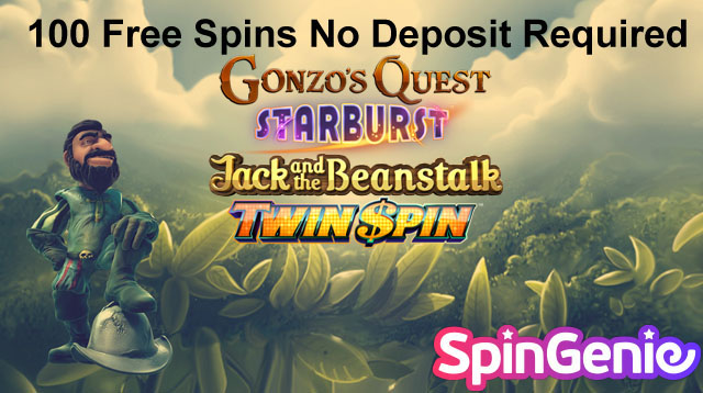 100 Free Spins No Deposit Needed UK