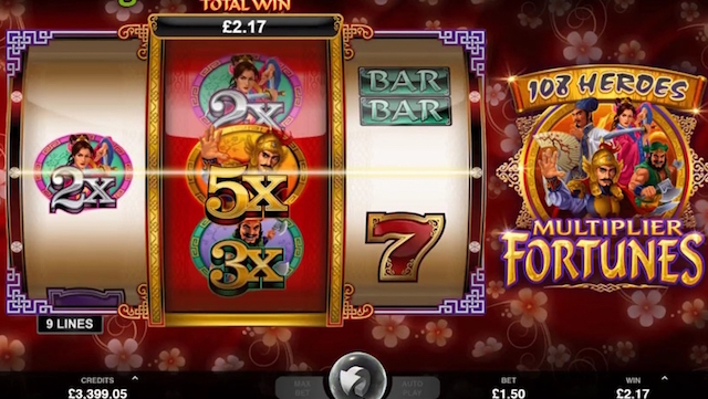 New Microgaming Slots 108 Heroes Multiplier Fortunes Slot