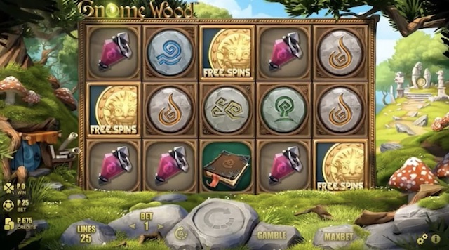 Gnome Wood Slot by Microgaming