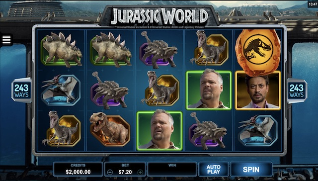 Jurassic World Slot by Microgaming Review
