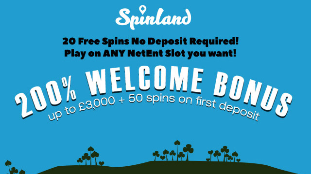 Spinland - New Slot Site With NetEnt Games