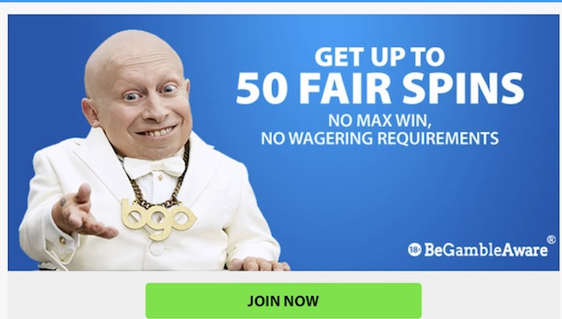 BGO 50 fair spins