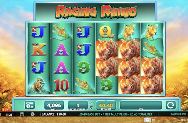 Raging Rhino Slot Review, Bonus and Recommended Casinos