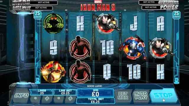 Iron Man Slot Progressive Review and Bonus