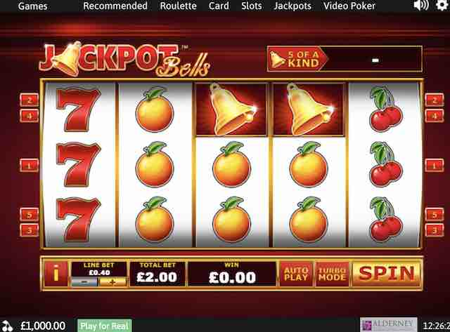 Jackpot Bells Progressive Jackpot Game Review by Playtech