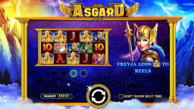 Asgard Pragmatic Play Slot