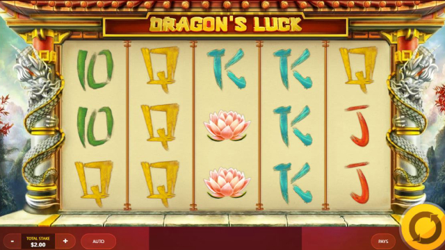 Dragon's Luck Stacks Red Tiger Slot
