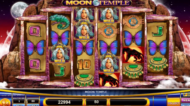 Moon Temple Lightning Box Slot